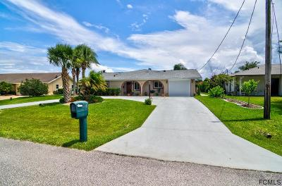 Palm Coast Single Family Home For Sale: 3 Fleming Court