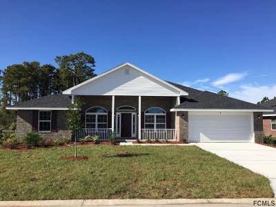 Flagler Beach Single Family Home For Sale: 8 Turtle Ridge Dr