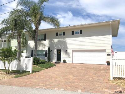 Flagler Beach Single Family Home For Sale: 339 Palm Dr