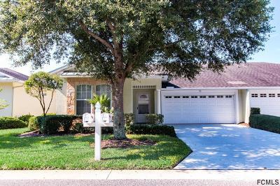 Palm Coast FL Condo/Townhouse For Sale: $225,000