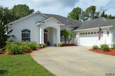 Palm Coast Single Family Home For Sale: 42 Westminster Drive