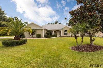 Palm Coast FL Single Family Home For Sale: $219,000