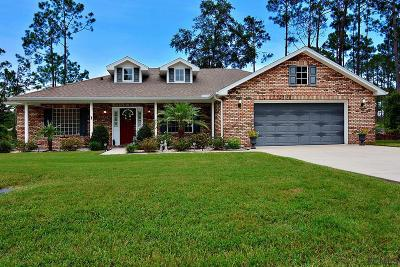 Palm Coast FL Single Family Home For Sale: $250,000