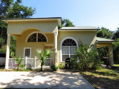 Palm Coast Single Family Home For Sale: 5578 N Ocean Shore Blvd