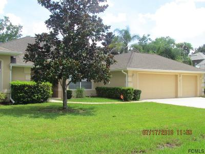 Palm Coast Single Family Home For Sale: 15 Eastman Lane