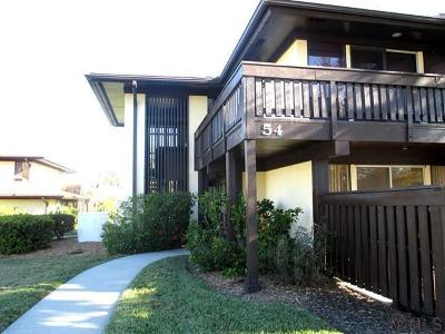 Palm Coast Condo/Townhouse For Sale: 54 Club House Dr #201