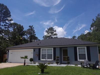 Palm Coast Single Family Home For Sale: 20 Pine Crest Ln