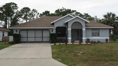 Palm Coast Single Family Home For Sale: 52 Foster Lane