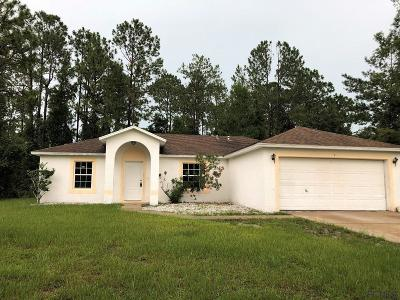 Palm Coast Single Family Home For Sale: 7 Rolland Lane