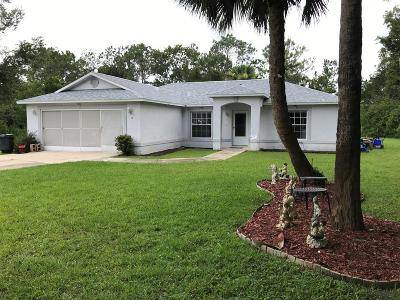 Palm Coast Single Family Home For Sale: 8 White Hill Place