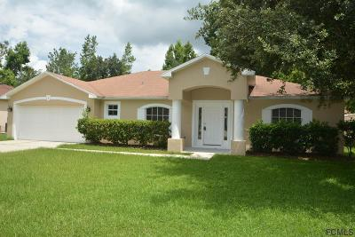 Palm Coast FL Single Family Home For Sale: $204,900