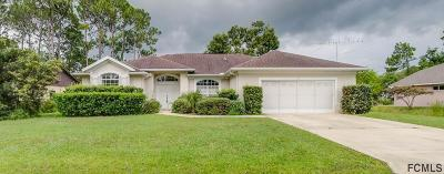 Palm Coast Single Family Home For Sale: 33 Boxwood Lane