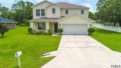 Palm Coast FL Single Family Home For Sale: $215,900