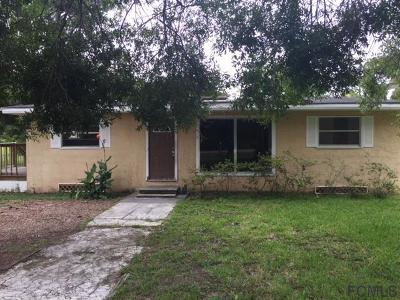Bunnell FL Single Family Home For Sale: $125,000