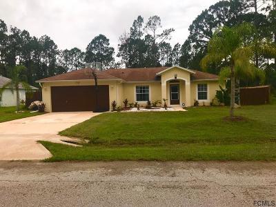 Palm Coast Single Family Home For Sale: 22 Seville Orange Path