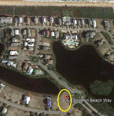 Ocean Hammock Residential Lots & Land For Sale: 6 Cinnamon Beach Way