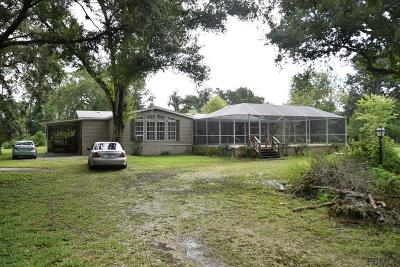 Bunnell Single Family Home For Sale: 2180 W Hwy 100
