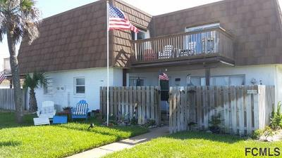 Flagler Beach Condo/Townhouse For Sale: 1800 S Ocean Shore Blvd #1800