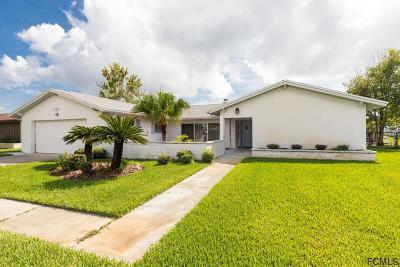 Palm Coast Single Family Home For Sale: 15 Claridge Ct S