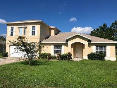 Palm Coast FL Single Family Home For Sale: $199,900