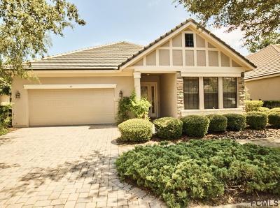Palm Coast Single Family Home For Sale: 43 Jasmine Dr