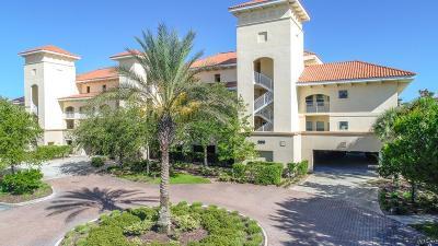 Palm Coast Condo/Townhouse For Sale: 300 Bella Harbor Ct #109