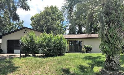 Palm Coast FL Single Family Home For Sale: $130,000