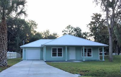 St Augustine FL Single Family Home For Sale: $229,000