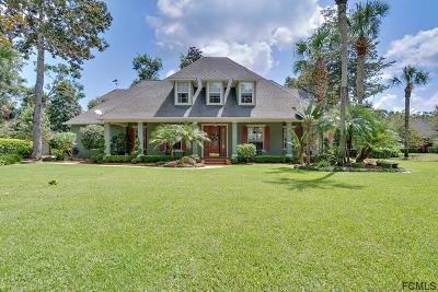 Flagler Beach Single Family Home For Sale: 12 Wilderness Run