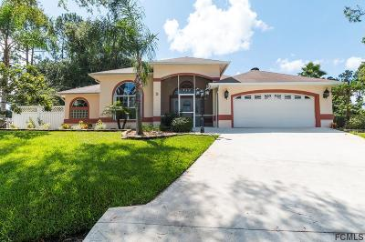Palm Coast Single Family Home For Sale: 5 Woodfern Place