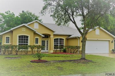 Palm Coast Single Family Home For Sale: 61 Burroughs Drive