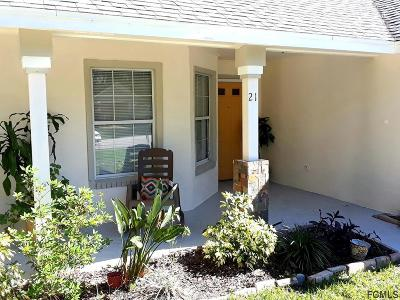 Palm Coast Single Family Home For Sale: 21 Welling Lane