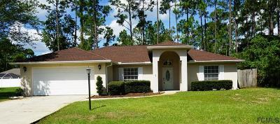 Palm Coast Single Family Home For Sale: 51 Brushwood Lane