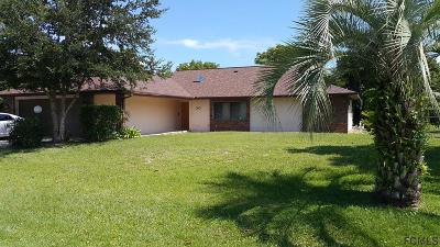 Palm Coast Single Family Home For Sale: 30 Filbert Lane