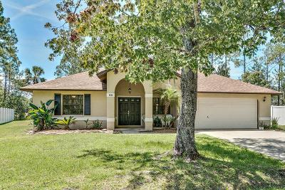 Palm Coast Single Family Home For Sale: 33 Edison Lane