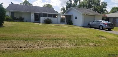 Palm Harbor Single Family Home For Sale: 26 Fairview Lane