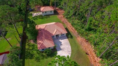 Seminole Woods Single Family Home For Sale: 29 Seward Trail