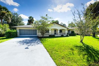 Palm Coast FL Single Family Home For Sale: $165,000