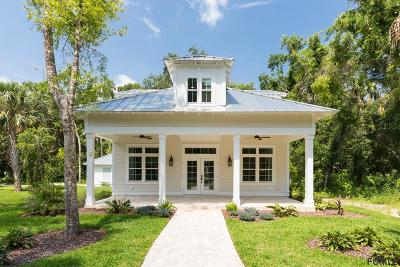 Palm Coast Single Family Home For Sale: 5114 N Ocean Shore Blvd