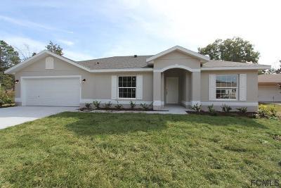 Palm Coast Single Family Home For Sale: 14 Praver Lane