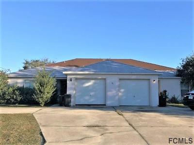 Matanzas Woods Multi Family Home For Sale: 27 Louvet Lane