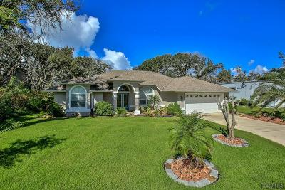 Palm Coast Single Family Home For Sale: 4 Sycamore Terrace