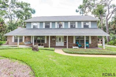 Ormond Beach Single Family Home For Sale: 124 River Bluff Drive