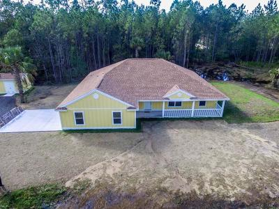Bunnell Single Family Home For Sale: 2956 Orange Blossom St