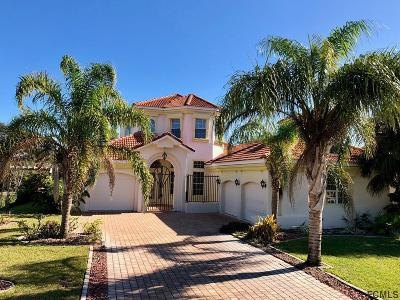 Palm Coast Plantation Single Family Home For Sale: 13 S Lakewalk Dr