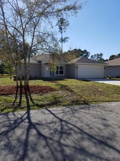 Palm Coast Single Family Home For Sale: 1 Llosee Court