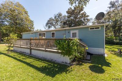 Palm Coast FL Single Family Home For Sale: $198,900