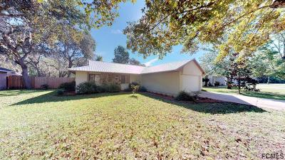 Palm Coast Single Family Home For Sale: 5 Zerington Court