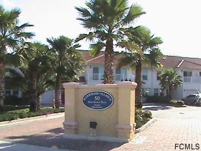 Palm Coast Condo/Townhouse For Sale: 50 Palm Harbor Pkwy #33