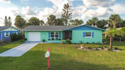 Flagler Beach Single Family Home For Sale: 314 5th St N